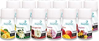 TimeMist 1043978 Premium Qlty Assorted Freshener Refills, 12/CT (Pack of 12)