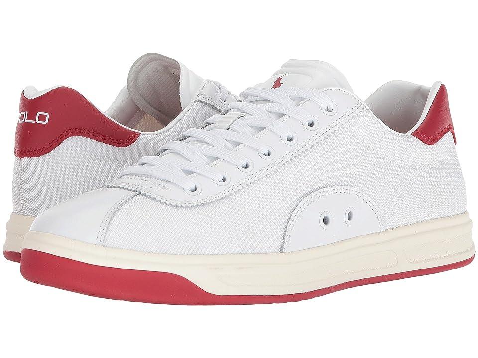 Polo Ralph Lauren Court 100 (White/Ralph Lauren 2000 Red) Men