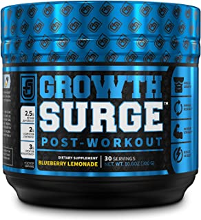 Growth Surge Post Workout Muscle Builder with Creatine, Betaine, L-Carnitine L-Tartrate - Daily Muscle Buil...