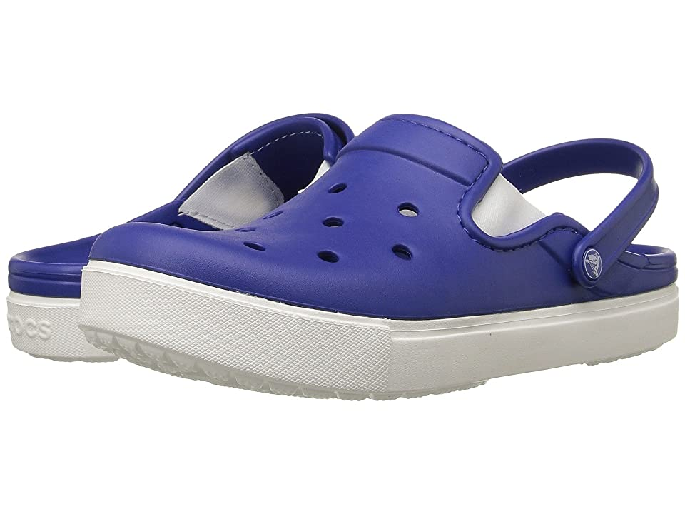 Crocs CitiLane Clog (Cerulean Blue/White) Clog Shoes