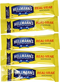 75 Individual Hellmann's Mayo Packets-Great For Work/School; Always Fresh!