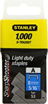 Stanley STA0TRA205T Light Duty Staple 8MM (1000) 0-TRA205T