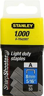 Stanley - Light-Duty Staple 8Mm (1000) 0-Tra205T