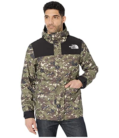 The North Face Cypress Jacket (Burnt Olive Green Ux Digi Camo Print) Men