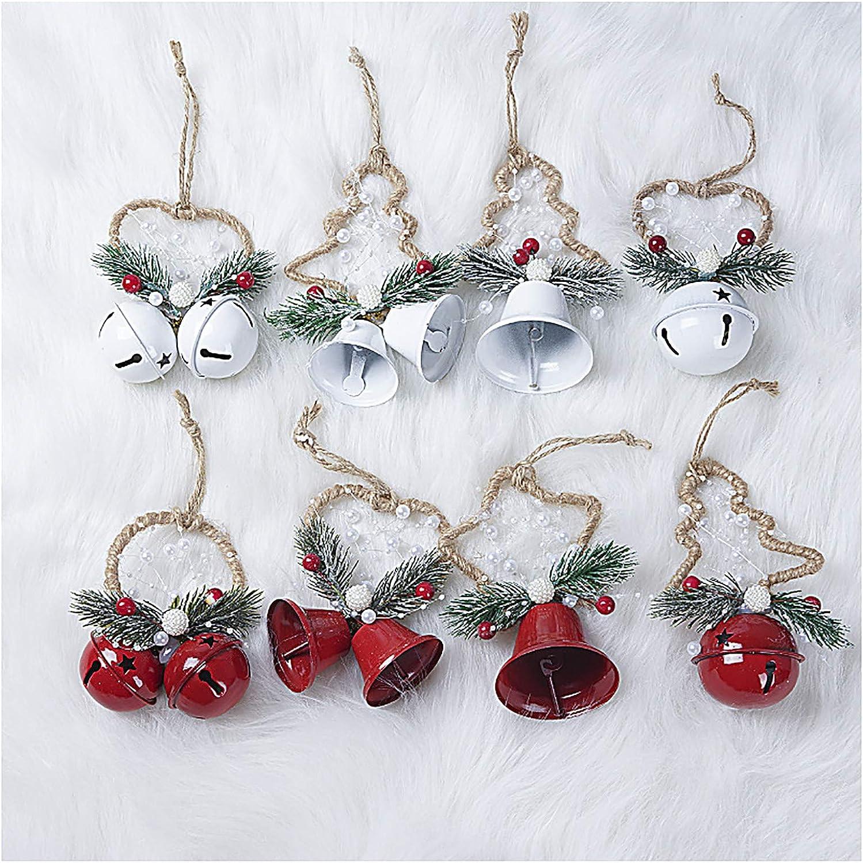 GHKSDLJFGDF Arlington Mall Recommendation Christmas Bells Ornaments Jingle Cra