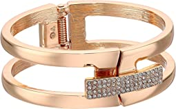 Vince Camuto - Link Bracelet with Pave Foldover Clasp