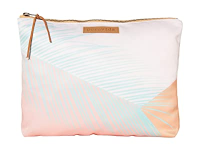 Pura Vida Pop Palm Clutch (Pop Palm) Clutch Handbags