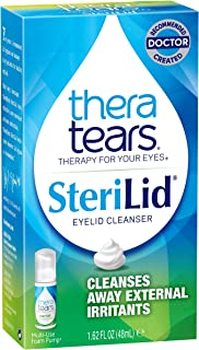 Thera Tears Theratears Sterilid Eyelid Cleanser 1.62 Oz (Pack Of 3)