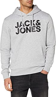 Jack & Jones Jjecorp Logo Sweat Hood Noos Sudadera con Capucha para Hombre