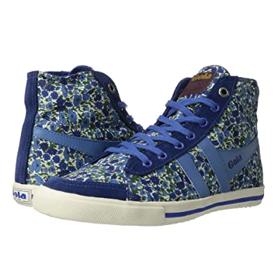 Gola Gola + Liberty Art Fabricstm Quota High Petal (Dark Blue/Mid Blue) Women
