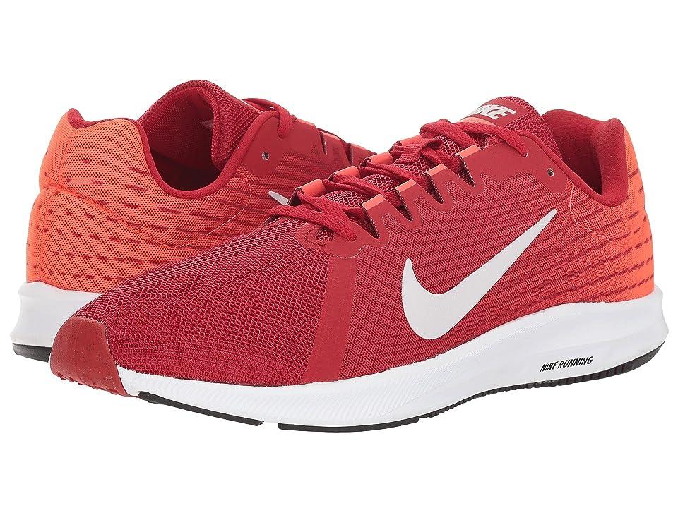Nike Downshifter 8 (Gym Red/Vast Grey/Bright Crimson/Black) Men