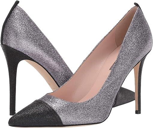 Silver/Black Fine Glitter