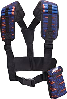Nerf - Elite Utillity Vest Toy Accessory, Dark Blue, Orange