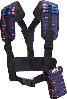 Nerf - Elite Utillity Vest Toy Accessory, Dark Blue, Orange