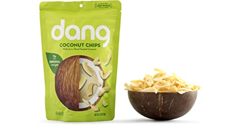 Dang Gluten Free Toasted Coconut Chips, Original, 3.17oz Bags only $1.87