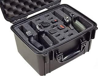 Case Club Waterproof 4 Pistol Case with Silica Gel to Help Prevent Gun Rust