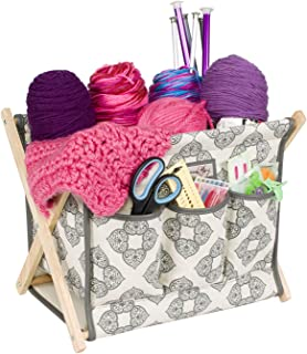 knitting baskets and bags