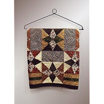 12-36 Inch Compression Type Quilt Rack Tapestry Rug Hanger 12 Oak