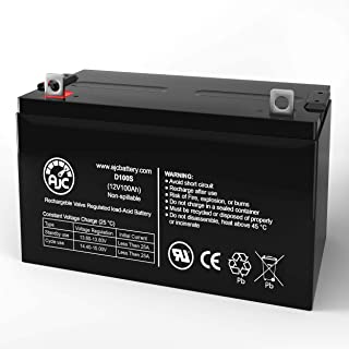 Power Patrol SLA1185 SLA 1185 12V 100Ah Sealed Lead Acid Battery - This is an AJC Brand Replacement