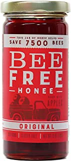 """Bee Free Honee – Vegan """"Honey"""" made from Organic Apples that's Safe for Children & those allergic to Honey! Tasty Honee that's Plant Based, Non-GMO & Cooks Perfectly into your foods! (Original - 12oz)"""