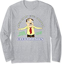Rick and Morty Ants in my Eyes Johnson Electronics Long Sleeve Shirt
