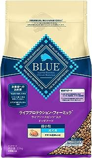 ブルーバッファロー ドッグフード ライフプロテクション・フォーミュラ 成犬用 超小粒 チキン&玄米レシピ 2.5kg