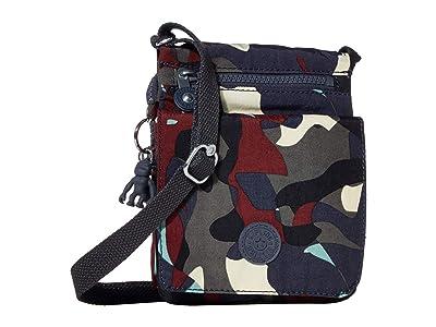 Kipling El Dorado Crossbody Bag (Camo) Handbags