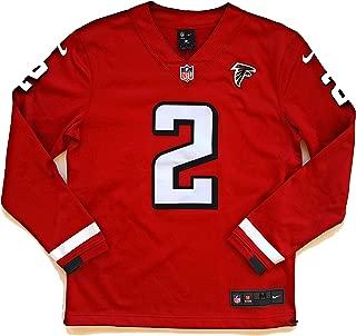 Men's Matt Ryan Atlanta Falcons Therma Long Sleeve Jersey - Red