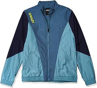 Oakley Men's Full Zip Nylon Track Jacket - Jackets for Men - Sweatshirts for Men - Men's Windbreaker Jackets