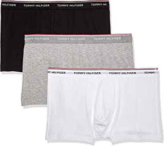Tommy Hilfiger Men's 3p Trunk Boxer Shorts (Pack of 3)