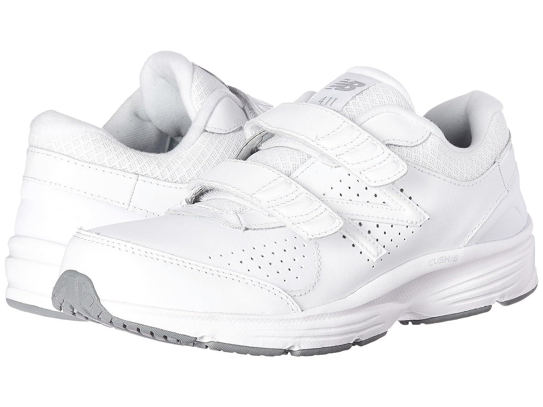 (ニューバランス) New Balance メンズランニングシューズ?スニーカー?靴 WW411v2 Hook-and-Loop White ホワイト 6 (24cm) 2A