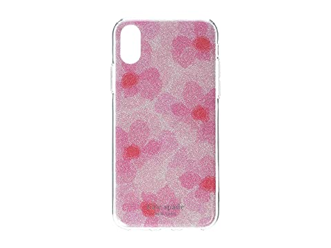 Kate Spade New York Glitter Abstract Peony Phone Case for iPhone XS