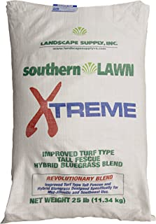 southernLAWN Xtreme Premium Blue Tag Certified Turf Type Tall Fescue Grass Seed, 25 Pounds