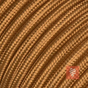 Textilkabel Stoffkabel Lampen Kabel Strom 3 Adrig 3x1 5mm Gwh Braun Amazon De Beleuchtung