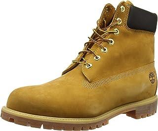 Timberland 添柏岚 ?#34892;?高帮大黄靴 防水工装靴 10061 小麦黄