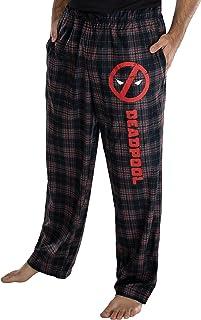 Deadpool Logo Marvel hombre' Lounge Plaid Pajama Pants