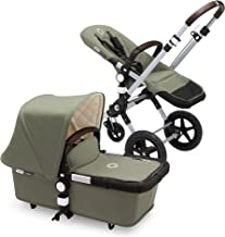 Bugaboo Cameleon3 Classic+ Complete Stroller, Dark Khaki - Versatile, Foldable Mid-Size Stroller with Adjustable Handlebar, Reversible Seat and Car Seat Compatibility