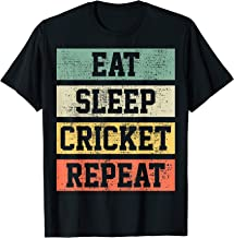 Cricket Retro Vintage Player Coach Gift T-Shirt