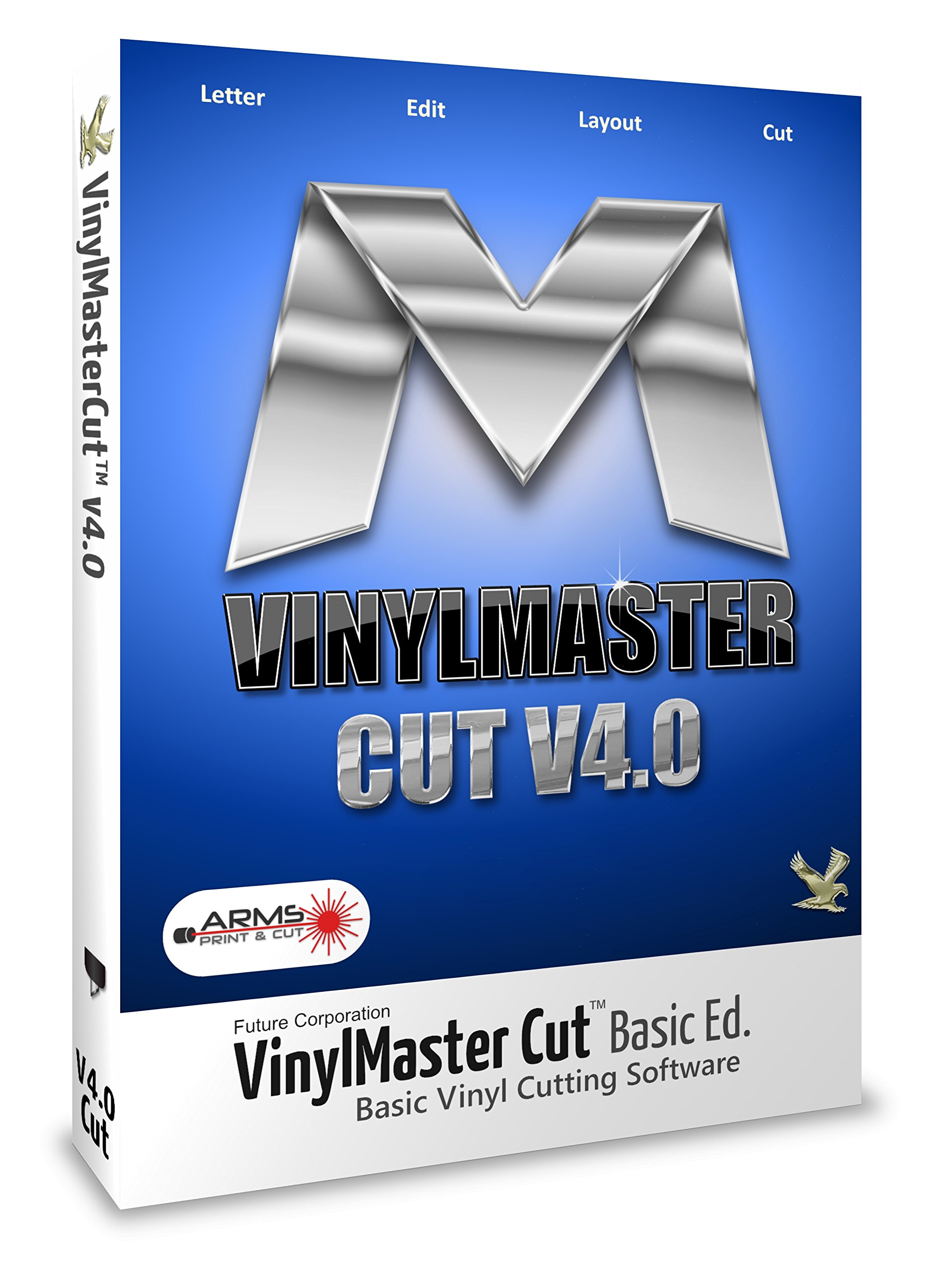 vinylmaster corte V4.0 Basic Sign Software para señal de vinilo Plotter: Amazon.es: Hogar
