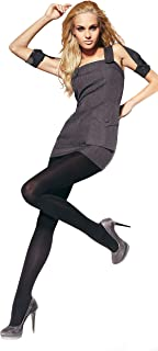 Gatta Damen Strumpfhose blickdicht 100den 896 - klassische Strumpfhose schwarz elastisch bequem komfortabel - Designed & Made in EU