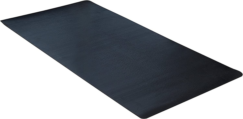 CLIMATEX Dimex Indoor Outdoor Rubber Scraper Mat, 36  X 10', Black (9G-018-36C-10)