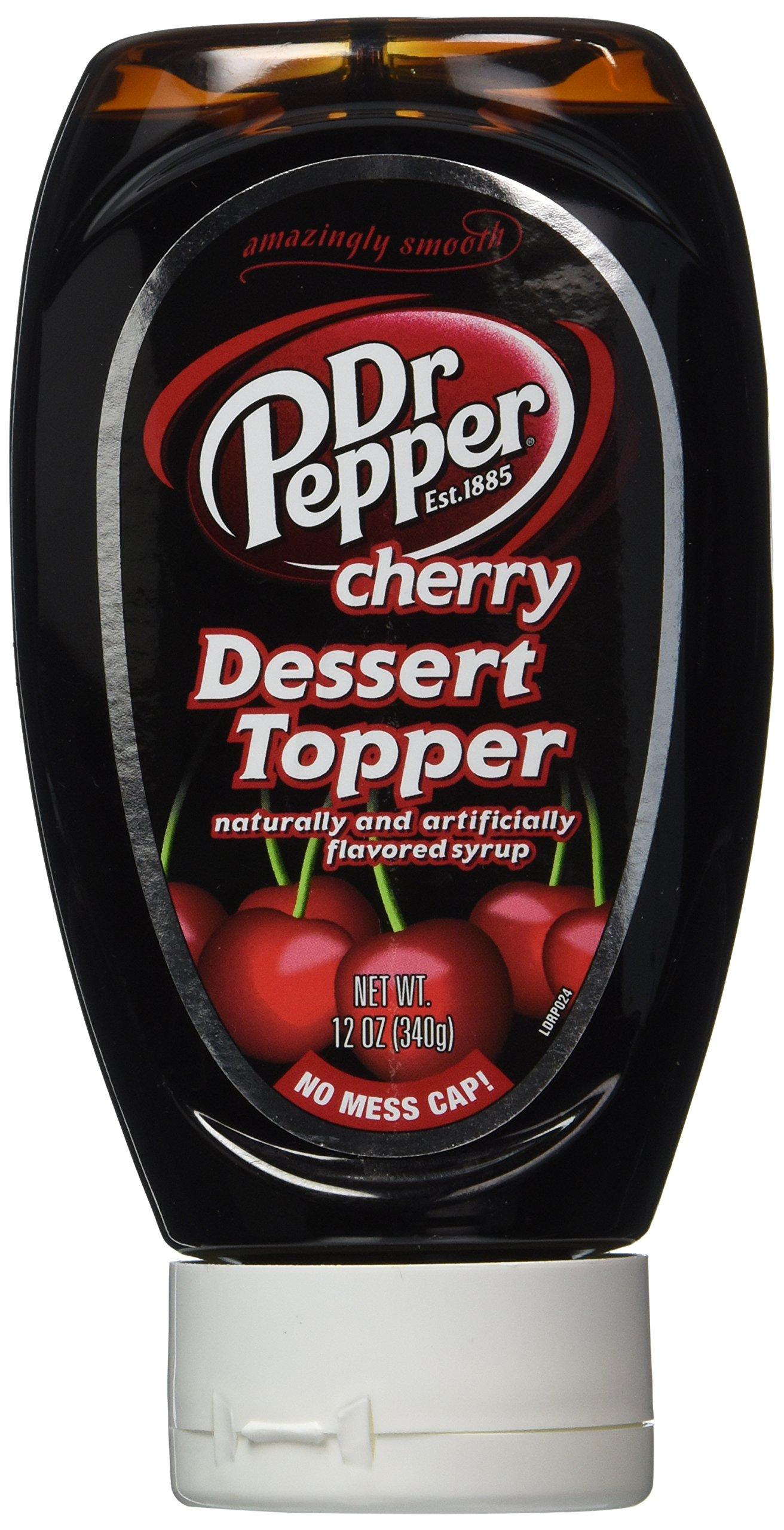 Dr. Pepper Dessert Topping 12 Oz Bottle