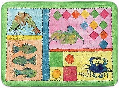 "Caroline's Treasures Blue Heron Floor Mat, 8104-RUG, Multicolor, 19"" x 27"""