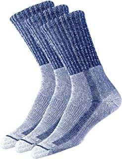 Thorlo Men's Light Hiking Sock 3 Pack, Navy, 13