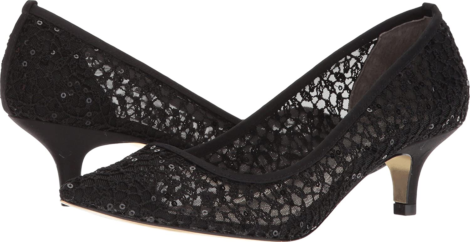 Adrianna Papell Kvinnors Lois Lace svart Martinique Lace 9.5 W USA