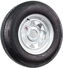 2-Pack Radial Trailer Tire On Rim ST205/75R14 Load D (5 on 4.5) Galvanized Spoke