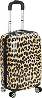 Rockland Luggage 20 Inch Carry On Skin, Leopard, Medium