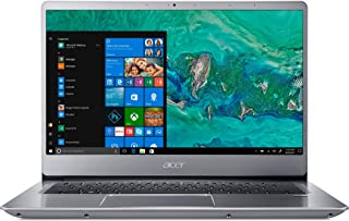 "Acer Swift 3-SF314-56G-788J Laptop, Intel Core i7-8565U, 12GB RAM, 256GB PCIe NVMe SSD + 1TB HDD, 2GB NVIDIA® GeForce® MX250, 14"" FHD Acer ComfyView IPS LCD, Windows 10 Home, Silver"