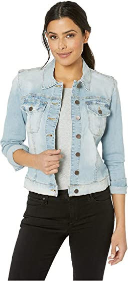 Amelia Jacket in Compensate w/ Light Base Wash