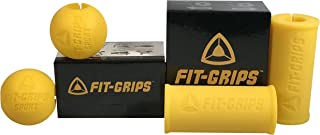 Fit Grips 2.0 & Sport Combo Package - Bicep, Tricep, Wrist & Forearm Thick Fat Grips
